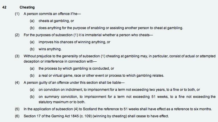 Offences under gambling act 2005 avi casino buffet