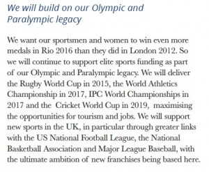 Tories on US sport franchises