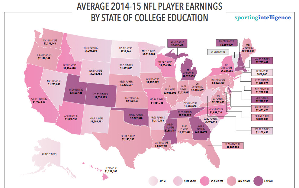 NFL map 2014-15