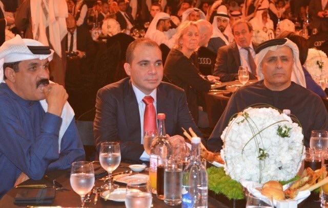 Ali at Dubai Soccer Awards Dec 2015