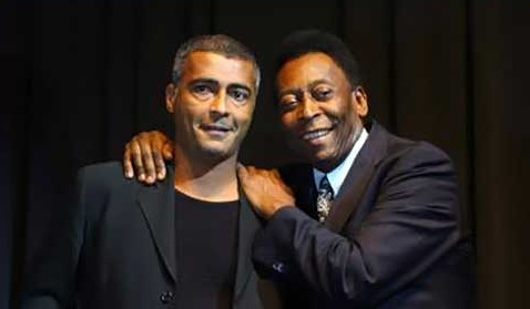 Pele and Romario