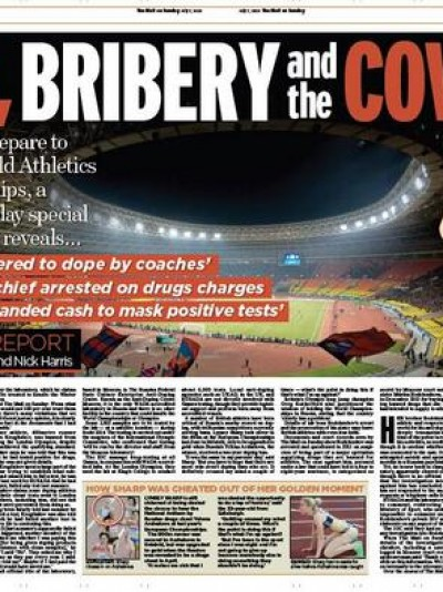 EXPOSED: the story behind the story of Russia, doping and the I.O.C