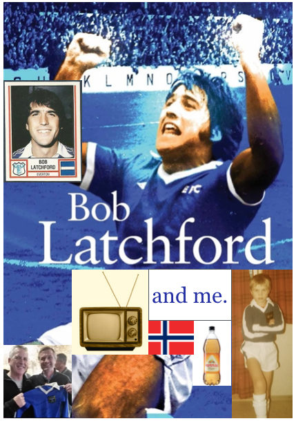 Bob Latchford and me cover